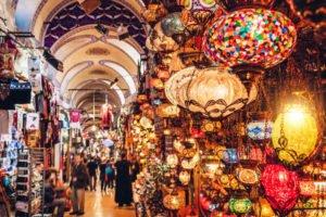 Hypnose Türkei: Ansicht eines türkischen Marktes